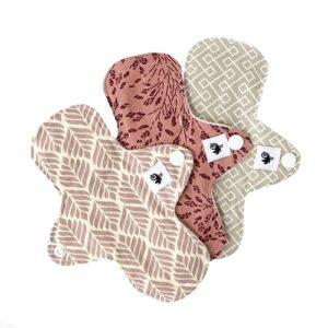 protege slip lavable WeeCare bien etre femme ecologie et zero dechet madamefs couche lavable, porte bebe, physiologique, portage trigo rose, meadow rose, infinity caramel