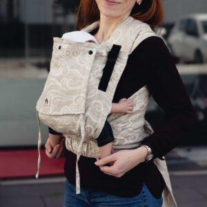 porte-bébé physiologique meï-taï sans noeud portage sling