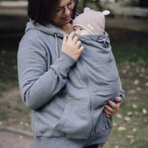 veste de portage évolutive unisexe porte-bébé physiologique
