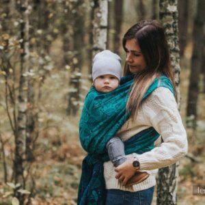 sling porte-bébé physiologique écharpe de portage