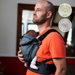 Néo, porte-bébé physiologique écharpe de portage sling Néobulle
