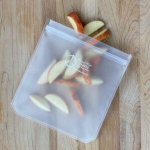 Ce sac réutilisable innovant est 100% étanche à l'air et à l'humidité