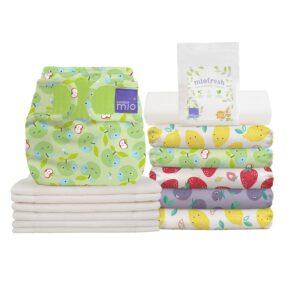 Le pack mioduo couches lavables tout-en-deux est parfait pour commencer les couches lavables ! Idéal pour les parents qui utilisent les couches lavables à temps partiel ou pour compléter votre collection.