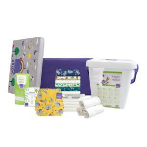 Le kit de départ mioduo est le kit idéal pour commencer les couches lavables ou les utiliser à temps partiel.