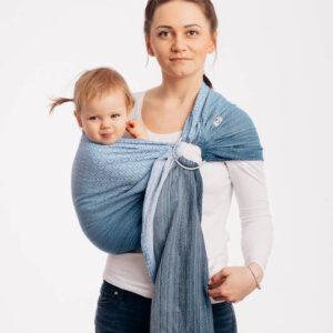 sling écharpe de portage physiologique sans noeud écharpe de portage